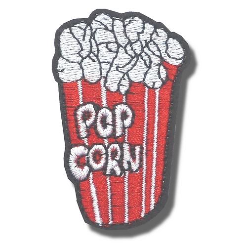 Ecusson thermocollant pop corn