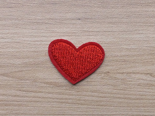 Ecusson thermocollant petit coeur