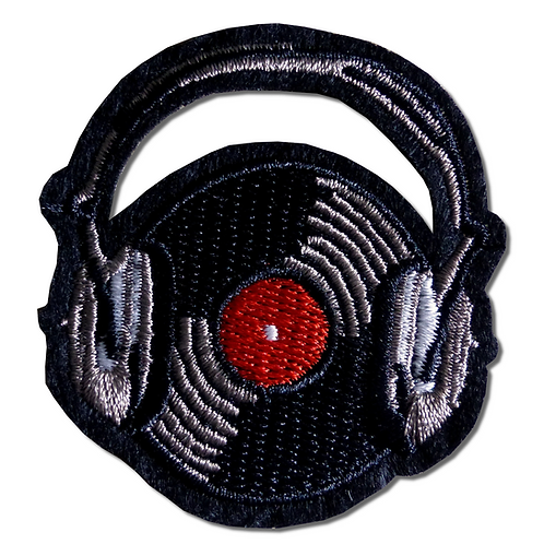 Ecusson thermocollant vinyl et casque