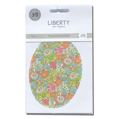 Patch thermocollant Liberty fleuri clair