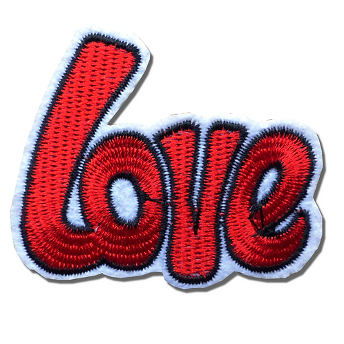 Ecusson thermocollant Love