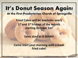 It's Donut Season Again! LEGACY