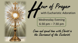 Wednesday Hour of Prayer