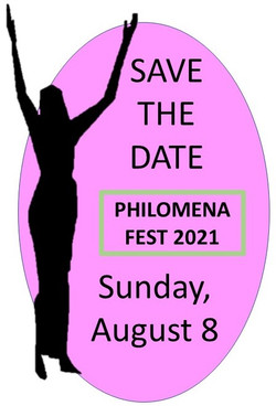PHILOMENA FEST SAVE THE DATE