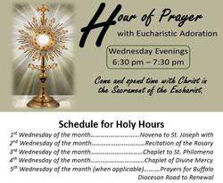 Hour of prayer image