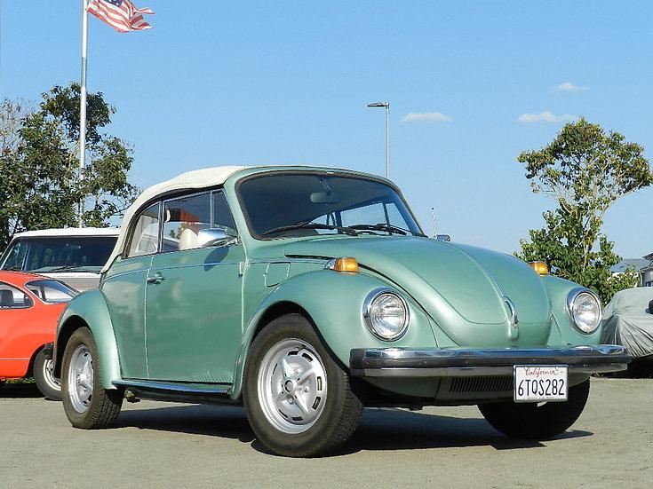 VW Käfer 1303 Cabriolet 1978 US aus Kalifornien