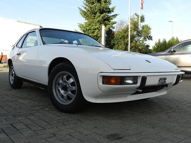 Porsche 924 der 1. Serie HU 2021 mit H-Kennzeichen 1978