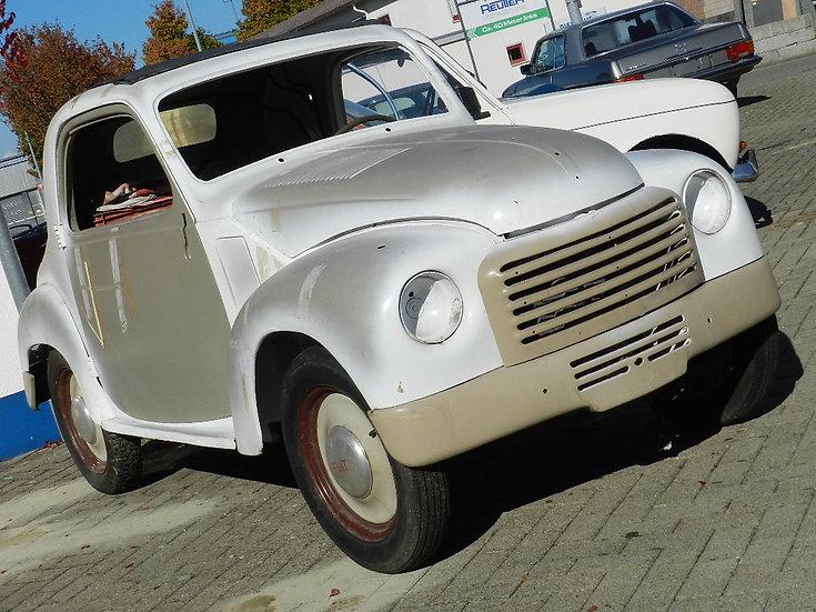 Fiat 500C Topolino 1953 abgebrochene Restauration