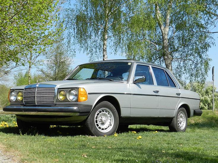 Mercedes Benz 300 D Turbo Diesel W123 Limousine