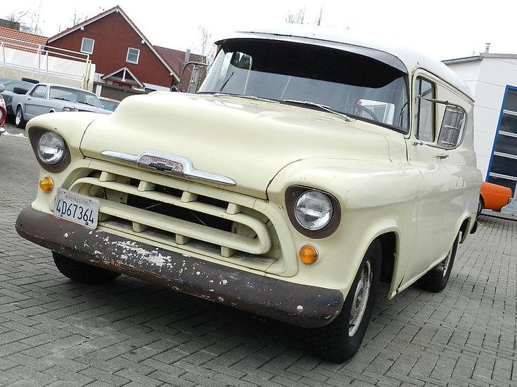 """Chevrolet V8 1/2 ton Panel Delivery Van """"Task Force"""" 1957"""