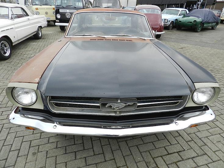 """Ford Mustang """"A-Code"""" teilrestauriert 1965"""