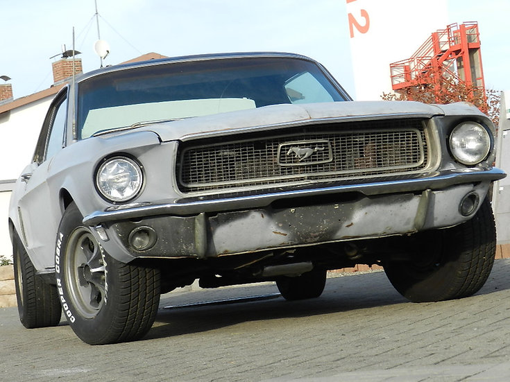 Ford Mustang V8 Hardtop Automatik 1968