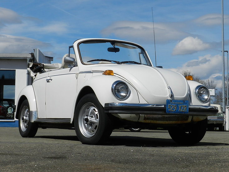 "VW Käfer 1303 Cabriolet 1979 ""Tripple White Edition"""