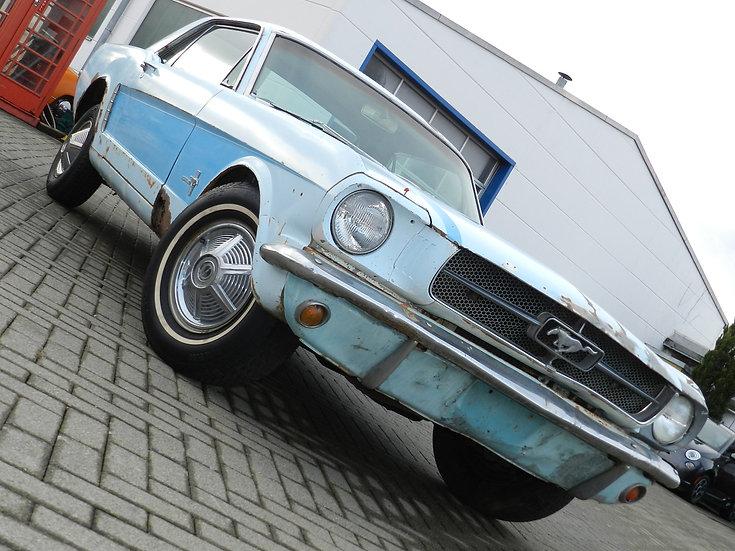 Ford Mustang 260 CUI V8 Hardtop 1964 abgebrochene Restauration