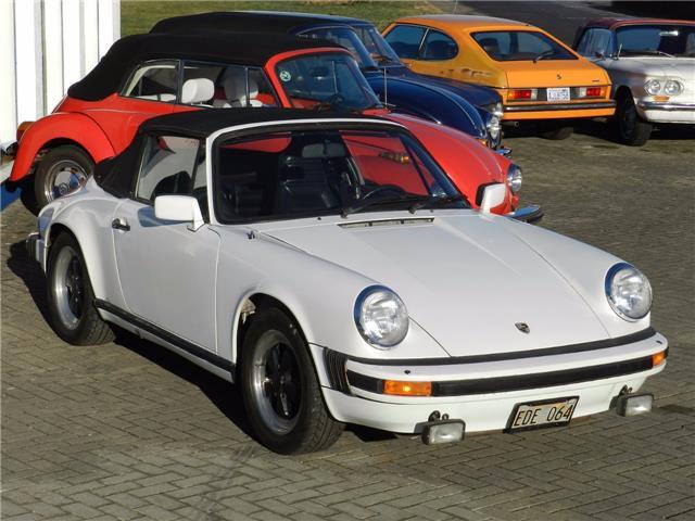 Porsche 911 SC Cabrio - meist im Erstlack