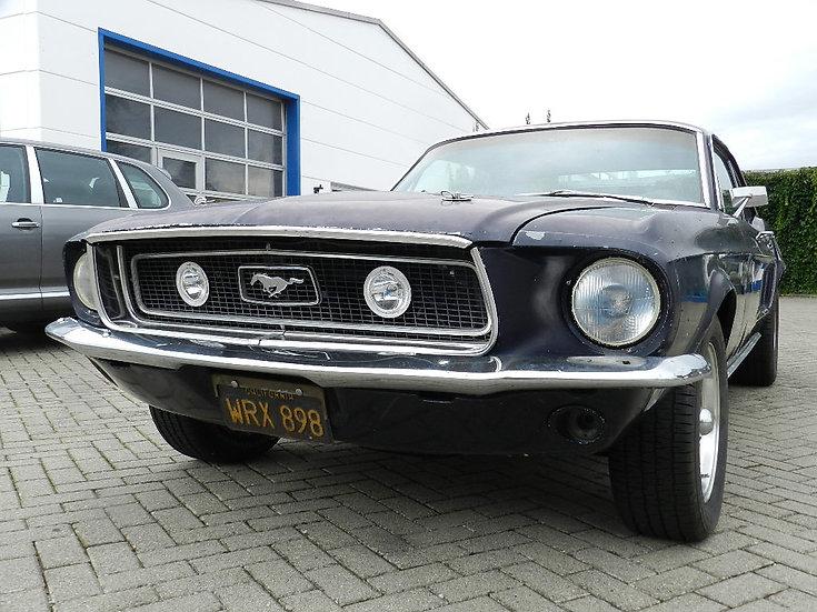 "Ford Mustang V8 ""Black Plater"" mit vielen Optionen 1968"
