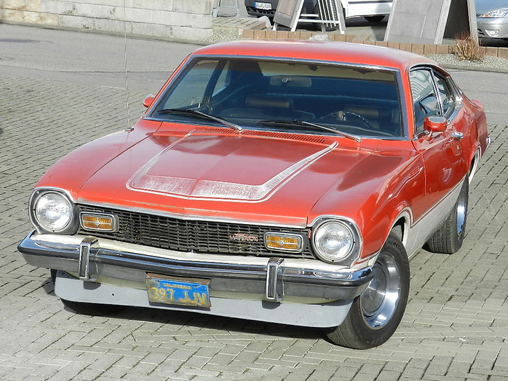 Ford Maverick Grabber V8 302 (5.0l.) 1973 - nahezu im Originalzustand