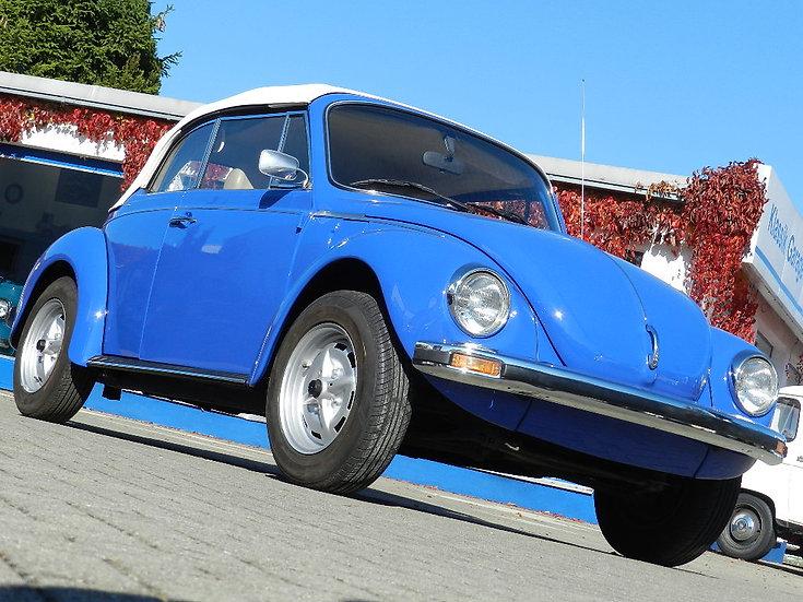 VW Käfer 1303 LS Cabriolet 1974 mit HU und sehr vielen Neuteilen