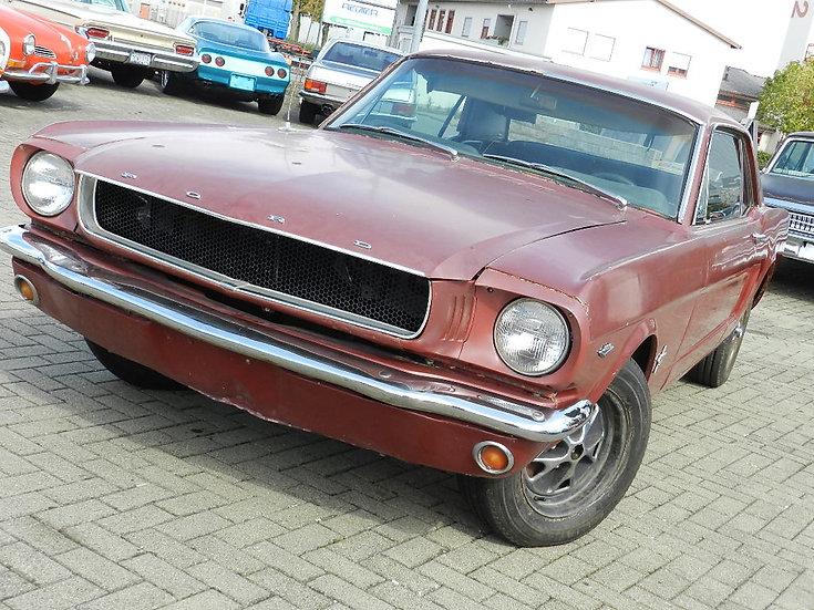 """Ford Mustang Hardtop V8 """"A-Code"""" Schalter 1965 mit neuen Motor"""