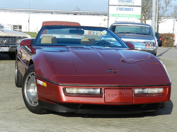 Chevrolet Corvette C4 Convertible 1986