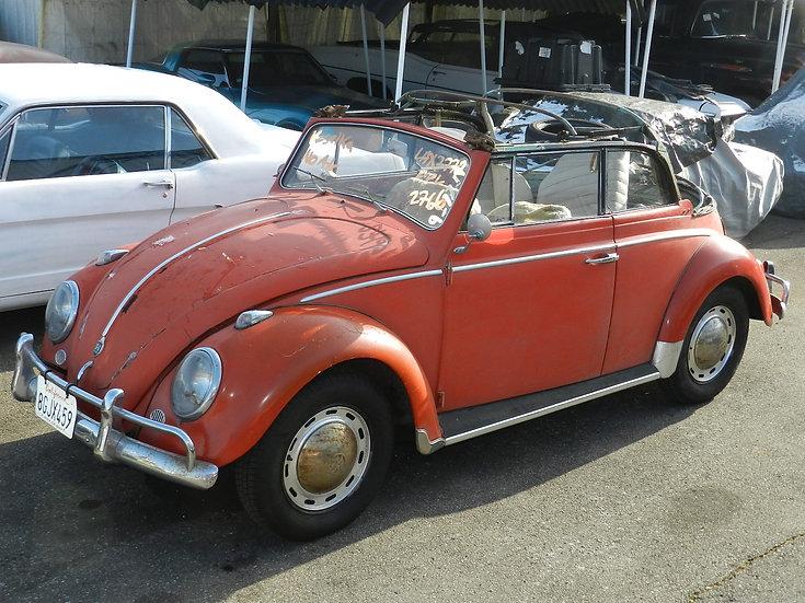 VW Käfer 1200 Cabrio 1962 aus Kalifornien