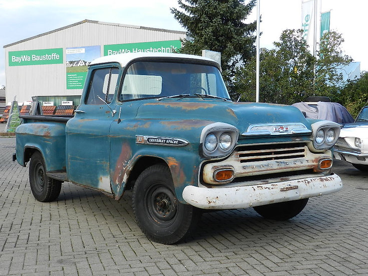 Chevrolet Apache Step Side Pick Up 1959