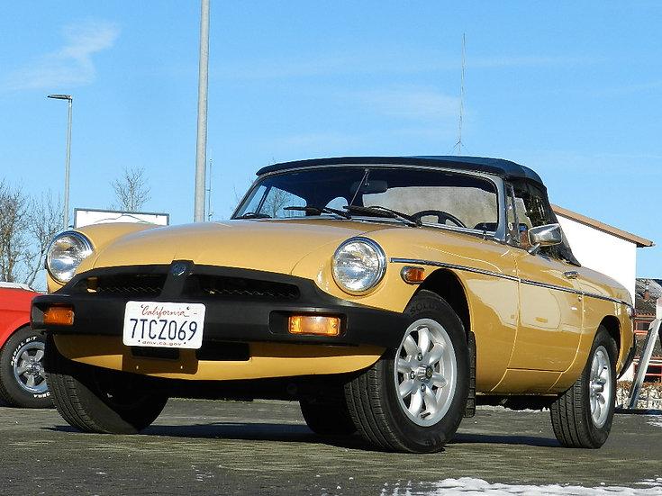 """MGB Roadster / Cabrio aufwändig restauriert 1977 / HU und """"H"""" NEU"""