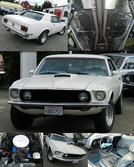 1969 Ford Mustang Hardtopcoupé