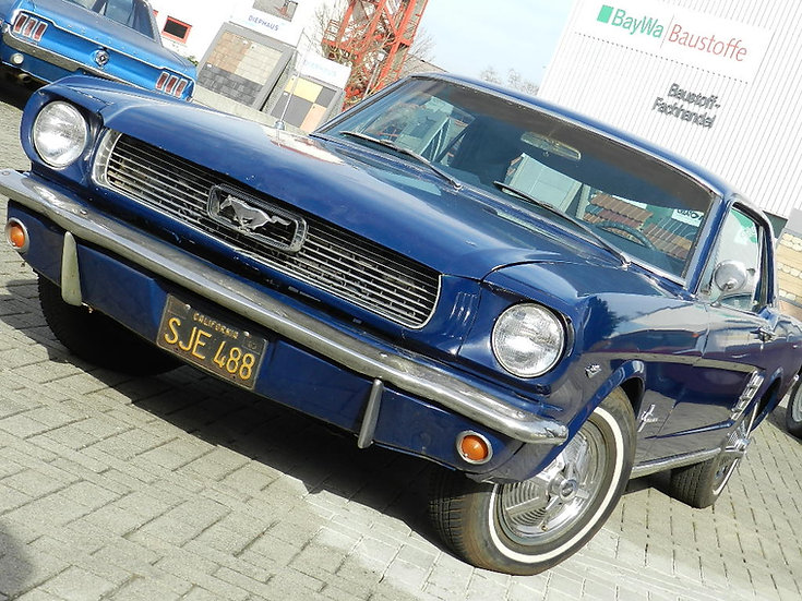 """Ford Mustang 289 CUI V8 """"C-Code"""" Coupé 1966"""