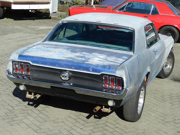 Ford Mustang V8 1968 Hardtop Automatik