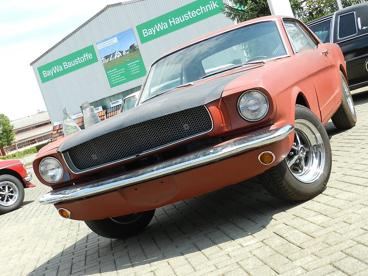 "Ford Mustang V8 ""A-Code"" 1965 Hardtop"
