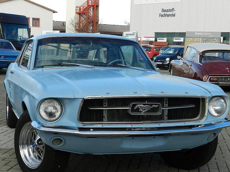 Ford Mustang V8 Hardtop Schaltgetriebe 1967