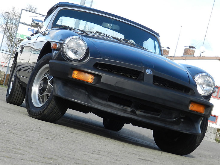 "MG B Roadster ""Limited Edition"" nur 6668 gebaut 1980"