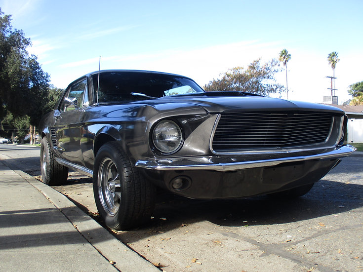 Ford Mustang V8 Coupé mit vielen Optionen 1967