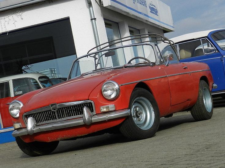 """MG B Roadster MK I Chrom """"Pullhandle"""" 1965"""
