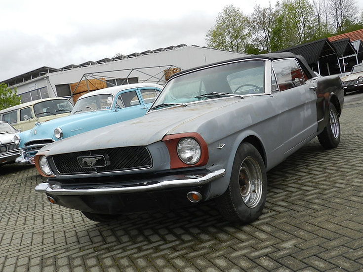 Ford Mustang Convertible I6 1965