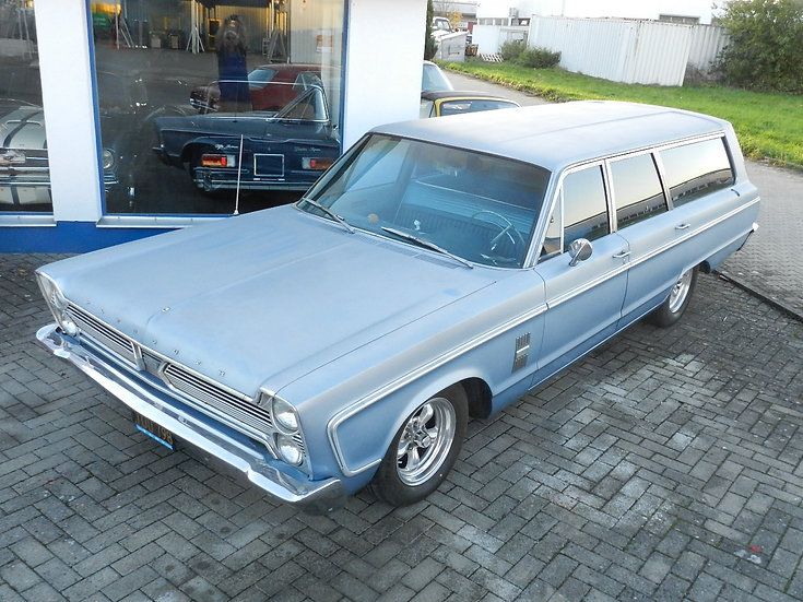 Plymouth Fury III Wagon 9 Passenger 1966