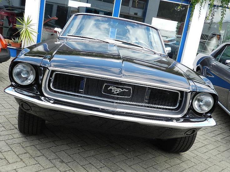 Ford Mustang V8 Cabrio 1968 - abgebrochene Restauration