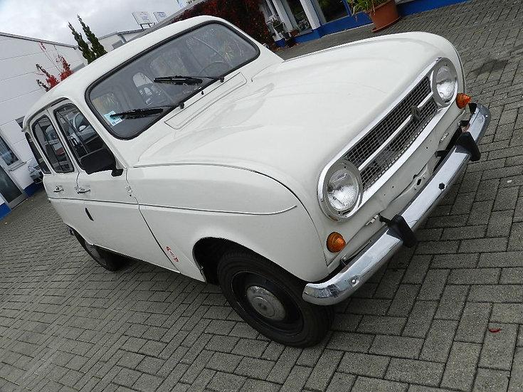 """Renault R4 """"Alubrille"""" Frankreichimport mit HU und """"H-Kennzeichen"""" 1974"""