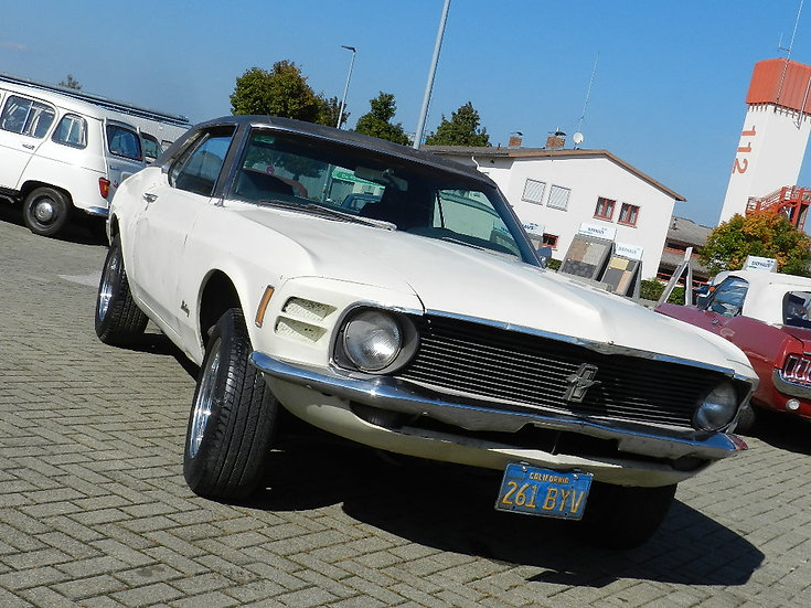 Ford Mustang Grande Coupé 302 CUI V8 mit vielen Optionen 1970
