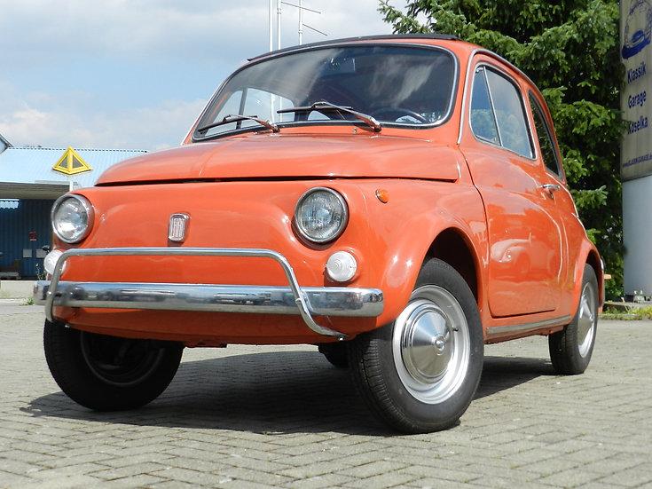 Fiat 500 L komplette, gute und ältere Restauration 1971