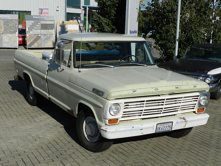 Ford F 100 Pick Up Truck V8 mit Schaltgetriebe 1969