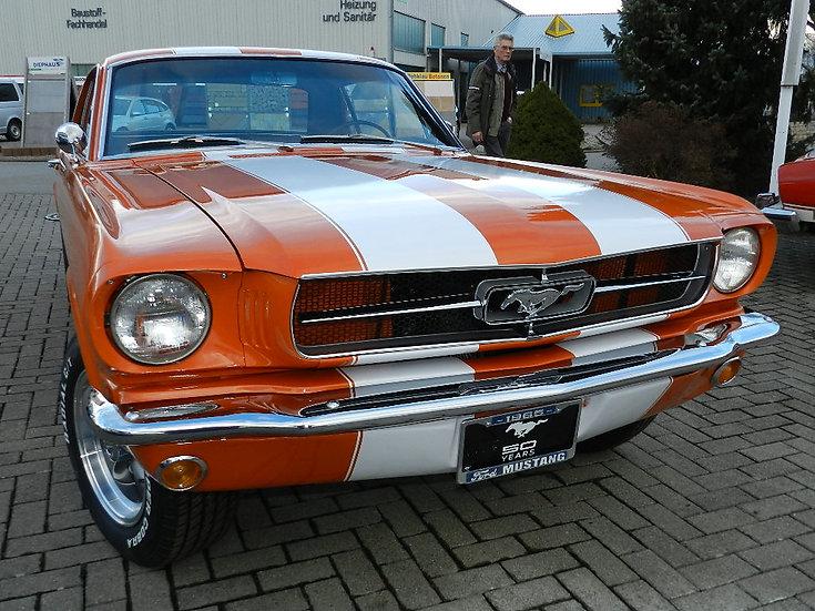 Ford Mustang V8 Coupé 1965 nahezu alles neu