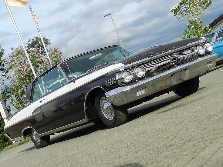 Mercury Monterey V8 2door Hardtop Custom 1962