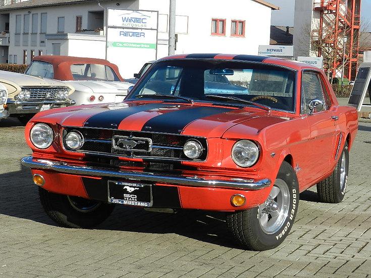 Ford Mustang Hardtop Coupé V8 aufwändig restauriert 1965