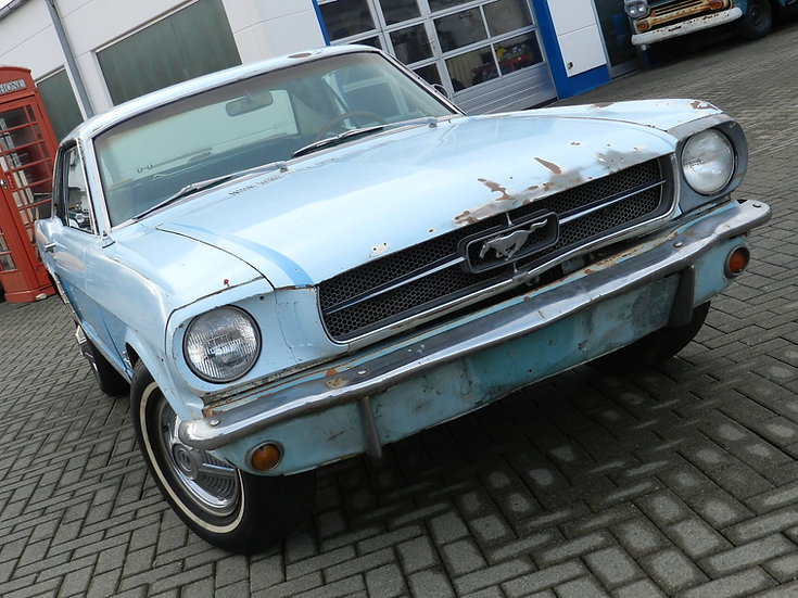 Ford Mustang 260 CUI V8 Hardtop 1964 zum restaurieren