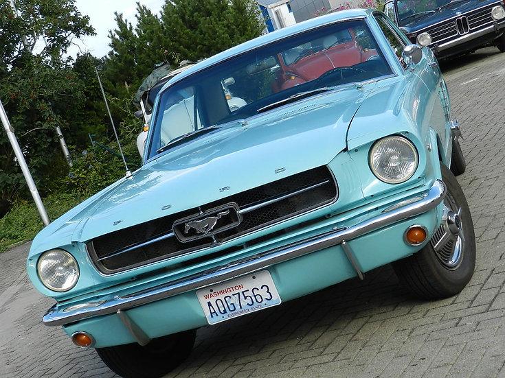 Ford Mustang Hardtop V8 1965 seit knapp 30 Jahren in letzter Hand