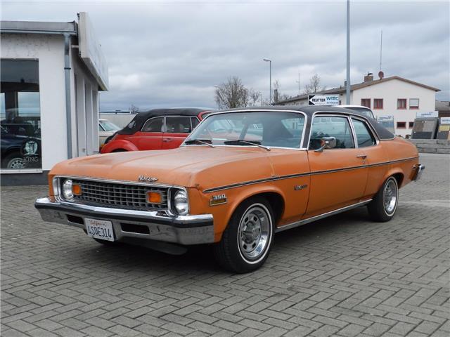 Chevrolet Nova Custom 2 Door Sedan 1973