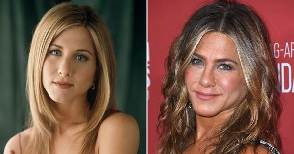 Jeniffer Aniston before after plastic surgery