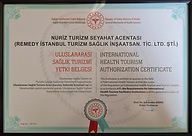 Remedy Istanbul Tourism Accreditation